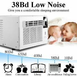 1100w 3754btu Fenêtre Bureau Chauffage De Refroidissement De Climatisation Portable