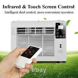 1100w Climatiseur Portatif Froid/chauffage 3754btu Ventilateur De Refroidissement Maison Avec Tuyau D'échappement