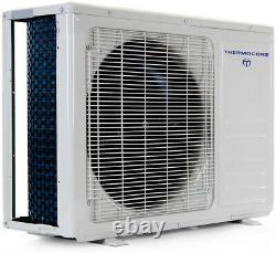 12000 Btu 19 Trois Mini Thermopompe De Climatisation Fractionnée Sans Conduit, Caste De Plafond