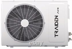 12000 Btu Ductless Air Conditioner, Pompe À Chaleur Mini Split 110v 1 Ton Avec Kit