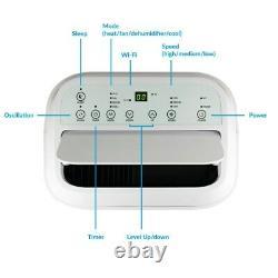 12000 Btu Smart Wifi App-contrôlable Climatiseur Portable Avec Pompe À Chaleur