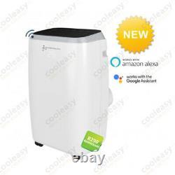 12500 Btu Pompe À Chaleur De Climatisation Portable / Application Wifi / Plug & Play Nouveau
