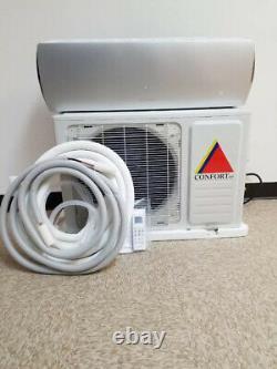 12 000 Btu Climatiseur Sans Conduits, Pompe À Chaleur Mini Split 220v 1 Tonne Avec/kit