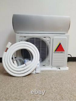 12 000 Btu Système Ductless Climatiseur, Pompe À Chaleur Mini Split 220 V 1 Ton Withkit