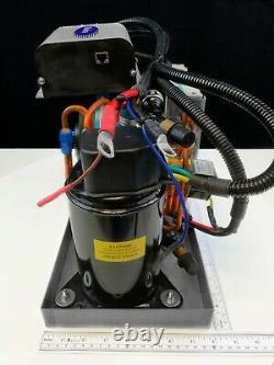12v DC Bateau Autonome Climatiseur 12000 Btu Avec Chaleur, Contrôle Et Pompe