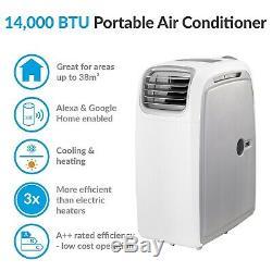14000btu Climatiseur Portable Unité De Climatisation Mobile Avec Pompe À Chaleur