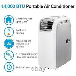 14000btu Portable Air Conditioner Mobile Air Conditioning Unit Avec Pompe À Chaleur