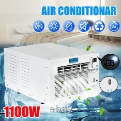 1500w 5119btu Climatiseur De Fenêtre Portatif Réfrigéré Cooler Heat Av F