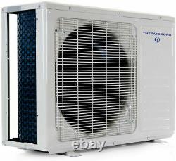 17 Seer 24000 Btu Ductless Air Conditioner Heat Pump Mini Split, Cassette Wifi