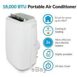 18000 Btu Climatiseur Portable Mobile Avec Pompe À Chaleur Pour Grande Chambre