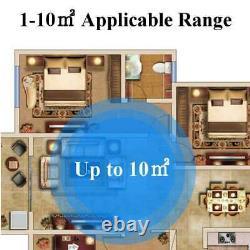 3754btu Air Conditionné De Bureau Portable 1000w Cold/heat Double Usage Avec Le Contrôle De Distance