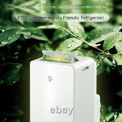 4-en-1 Eco 14000btu Climatiseur Unité De Conditionnement Portable 4,25kw Classe A