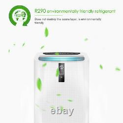 4-en-1 Wifi 12000btu Climatiseur Portable Unité De Conditionnement 3530w Classe A