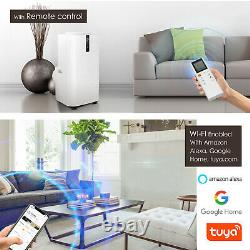 4-en-1 Wifi 12000btu Climatiseur Portable Unité De Conditionnement 3.53kw Classe A