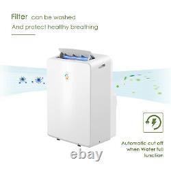 4-in-1 Eco 14000btu Climatiseur Unité Portable Conditionnement 4.25kw Classe A