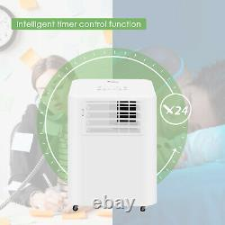 4in1 9000btu Air Conditionneur Portable Unité Déshumidificateur Ventilateur Télécommande 2,6kw