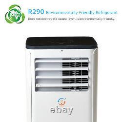 4in1 Wifi 9000btu Climatiseur Portable Unité De Conditionnement 2.6kw R290a Eco