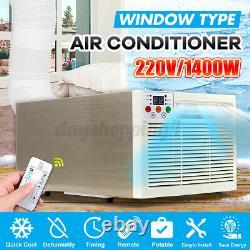 6000btu 1400w Fenêtre Boîte Murale Climatiseur Réfrigéré Refroidissement À Distance Nouveau