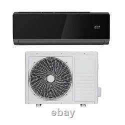 9000 Btu Noir Smart Wifi A ++ Facile Ajustement DC Inverter Split Wall Air Condi Iqool9b