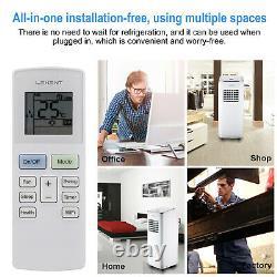 9000btu Climatiseur Mobile Refroidisseur Portatif Ventilateur À Distance Humidificateur R290 2600w