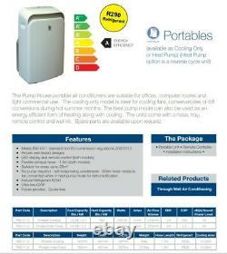 Air Conditionné Portable, Chambre À Coucher De 3,5kw, Climatisation 12000 Btu