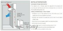 Air Conditionné/pompe De Chauffage Système De Fractionnement Kfr36-ywithag 12000btu /3,5kw Nouveau Modèle