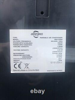 Airforce Portable Climatiseur Unité 12000 Btu Utilisé