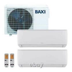 Baxi Climatisation Double Split Onduleur Astra 9+ 12 Btu R32 Lsgt40-2m