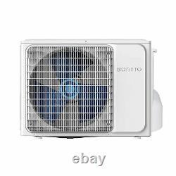Bontto K12 Montage Mural Unité Climatisation 3,5kw 12000btu Split System Pour 45 M²