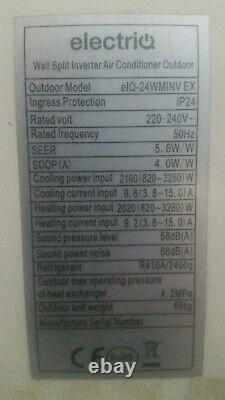 Climatiseur 24000 Btu Electriq