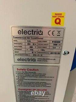 Climatiseur Commercial Portatif Electriq Tc25 25000 Btu 7,3 Kw