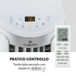 Climatiseur Mobile Refroidissement Portable 7000 Btu Class A Remote Room Minuter Blanc