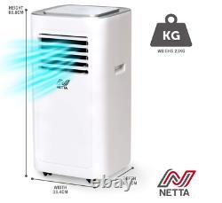 Climatiseur Portable 8000btu, Déshumidificateur, Ventilateur De Refroidissement, Télécommande, Catégorie A