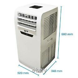 Climatiseur Portable Igenix 4-en-1, Fonction Déshumidificateur Et Chauffage, 7000btu