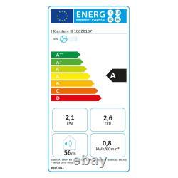 Climatiseur Unité De Conditionnement Portable 7000btu 3in1 808w Cooler Fenêtre Blanche