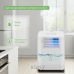 Climatiseur Unité De Conditionnement Portable 9000btu 2,6kw Classe D'énergie À Distance A