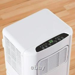 Daewoo 5000 Btu Portable 3-en-1 Climatiseur Avec Télécommande Blanche Col1316g