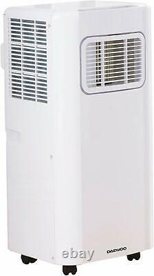 Daewoo Portable 3-in-1 5000 Btu Climatiseur Avec Rrp -blanc À Distance £ 399,99