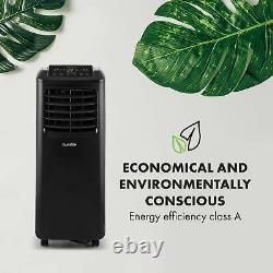 Déshumidificateur De Bureau D'intérieur Mobile De Climatisation 9000 Btu 2,6 Kw A Remote Black