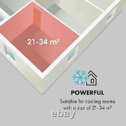 Déshumidificateur De Climatisation Mobile Home Office 7000 Btu A Remote White