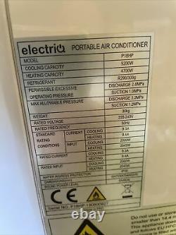 Electriq 18000 Btu 5.2kw Climatiseur Portatif Avec Pompe À Chaleur