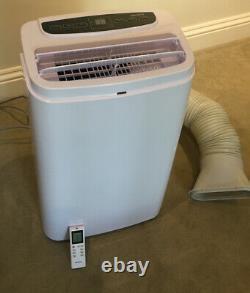 Electriq Silent 12 12000 Btu Climatiseur Portable Silencieux Et Déshumidificateur