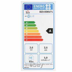 Homcom 9000 Btu Climatiseur Portable 4 Modes Minuterie D'affichage Led