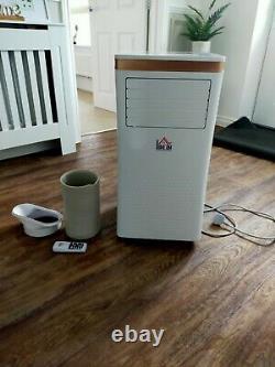 Homcom Climatiseur Portable 10 000 Btu