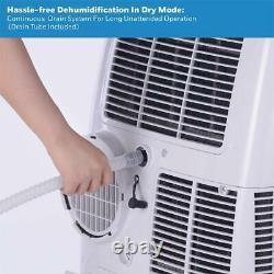 Honeywell Hl10cesww 10000 Btu Portable Air Conditioner White W Télécommande
