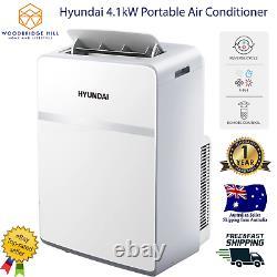 Hyundai 4.1kw Portable Climatiseur (14000 Btu, Cycle Inverse)