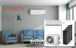 Jntech 12000btu Solaire Acdc Onduleur Sans Conduit Mini Split Climatiseur - Chauffage