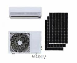 Jntech 18000btu Solar Acdc Onduleur Ductless Mini Split Air Conditioner & Heater