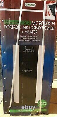 Meaco 9000 Btu Portable Climatisation Chauffage Déshumidificateur