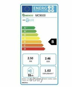 Meaco 9000btu Climatisation + Chauffage Accueil / Unité De Climatisation De Bureau